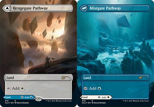 Hengegate Pathway // Mistgate Pathway - Foil