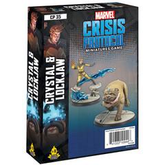 Marvel: Crisis Protocol - Crystal & Lockjaw