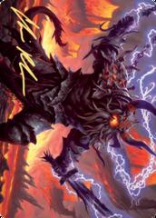 Kardur, Doomscourge Art Card - Gold-Stamped Signature