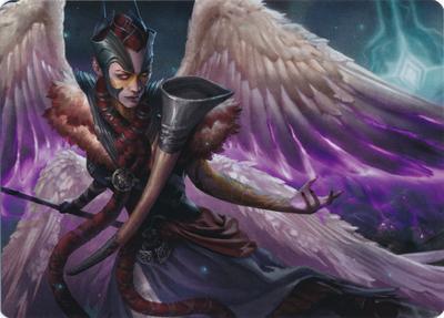 Firja, Judge of Valor Art Card