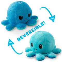 Reversible Octopus Plushie - Double Blue