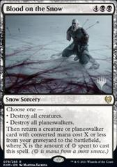 Blood on the Snow - Foil - Promo Pack