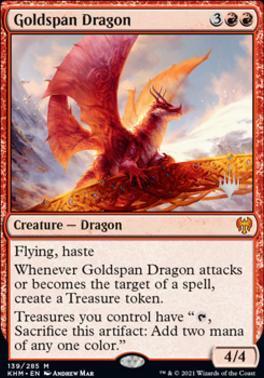 Goldspan Dragon - Foil - Promo Pack
