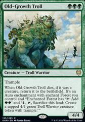 Old-Growth Troll - Foil - Promo Pack