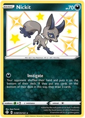 Nickit - SV081/SV122 - Shiny Holo Rare