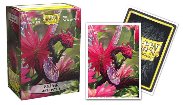 "Dragon Shield Sleeves: Matte ""Sahar"" Limited Edition (100 ct.) Standard"