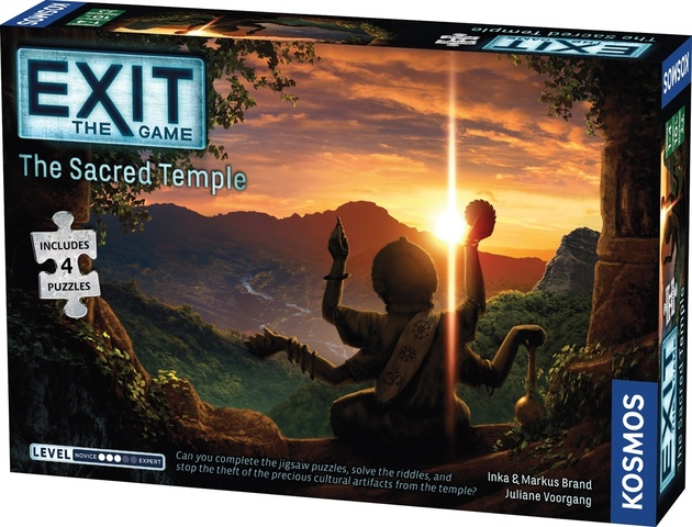Exit: The Game Puzzle - The Sacred Temple