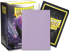Dragon Shield Sleeves: Standard Dual Matte - Orchid 'Emme' (100 ct.)