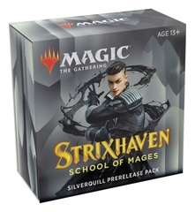 Strixhaven: School of Mages - Prerelease Pack +2 Booster Packs - Silverquill LIMIT 2 PER CUSTOMER EARLY RELEASE 4-16-21