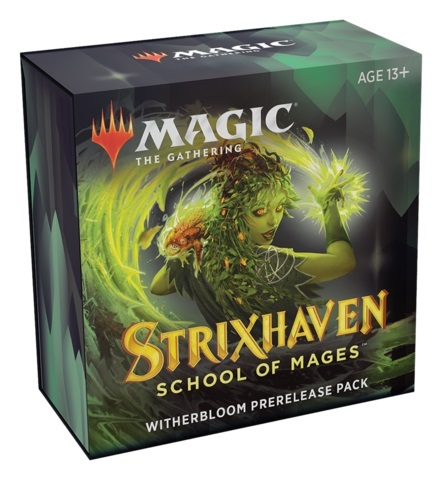 Strixhaven: School of Mages - Prerelease Pack - Witherbloom (PREORDER APRIL 16)