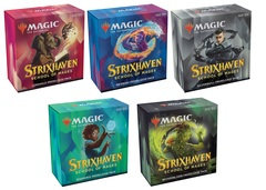 Magic the Gathering Strixhaven: School of Mages - Prerelease Pack Set of 5