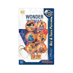 WizKids DC Comics HeroClix: Wonder Woman 80th Anniversary Dice and Token Pack