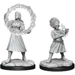Magic: The Gathering Unpainted Miniatures: Rootha & Zimone