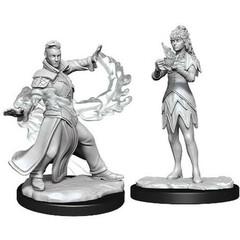 Magic: The Gathering Unpainted Miniatures: Killian & Dina