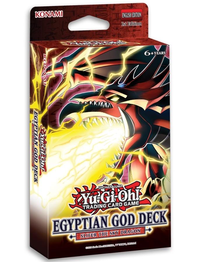 Egyptian God Deck: Slifer the Sky Dragon - 1st Edition
