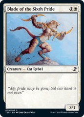 Blade of the Sixth Pride - Foil