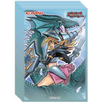 Konami - Yu-Gi-Oh!: Card Sleeves - Dark Magician Girl Dragon Knight (50ct)