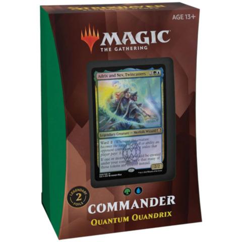 Strixhaven Commander 2021 - Quantum Quandrix (PREORDER APRIL 23)