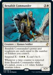 Benalish Commander - Foil