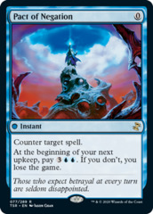 Pact of Negation - Foil