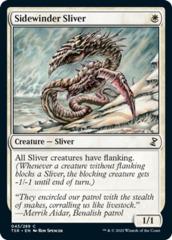 Sidewinder Sliver - Foil