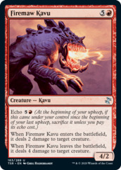 Firemaw Kavu - Foil