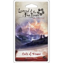 Legend of the Five Rings LCG: Coils of Power Dynasty Pack
