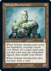 Solemn Simulacrum - Foil