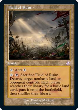 Field of Ruin - Foil