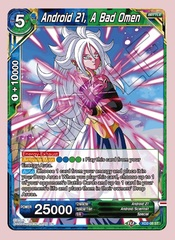 Android 21, A Bad Omen (Reprint) - XD2-08 - R