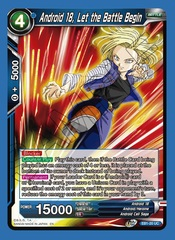 Android 18, Let the Battle Begin - EB1-20 - UC - Foil