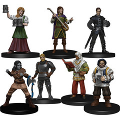 D&D Icons of the Realms: The Yawning Portal Inn - Friendly Faces Pack