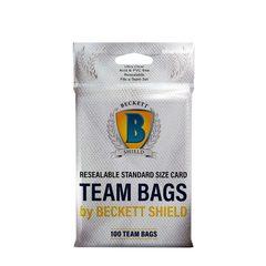 Beckett Shield Card Sleeves - Team Bags 100ct