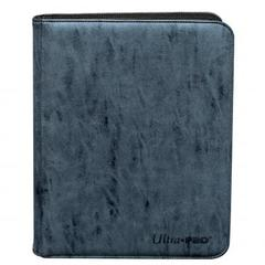 Ultra Pro - Zippered 9-Pocket Premium PRO-Binder - Suede Collection: Sapphire