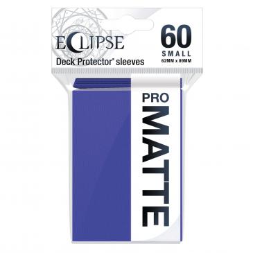 Ultra Pro: Eclipse PRO-Matte Small Deck Protector Sleeves 60ct - Royal Purple