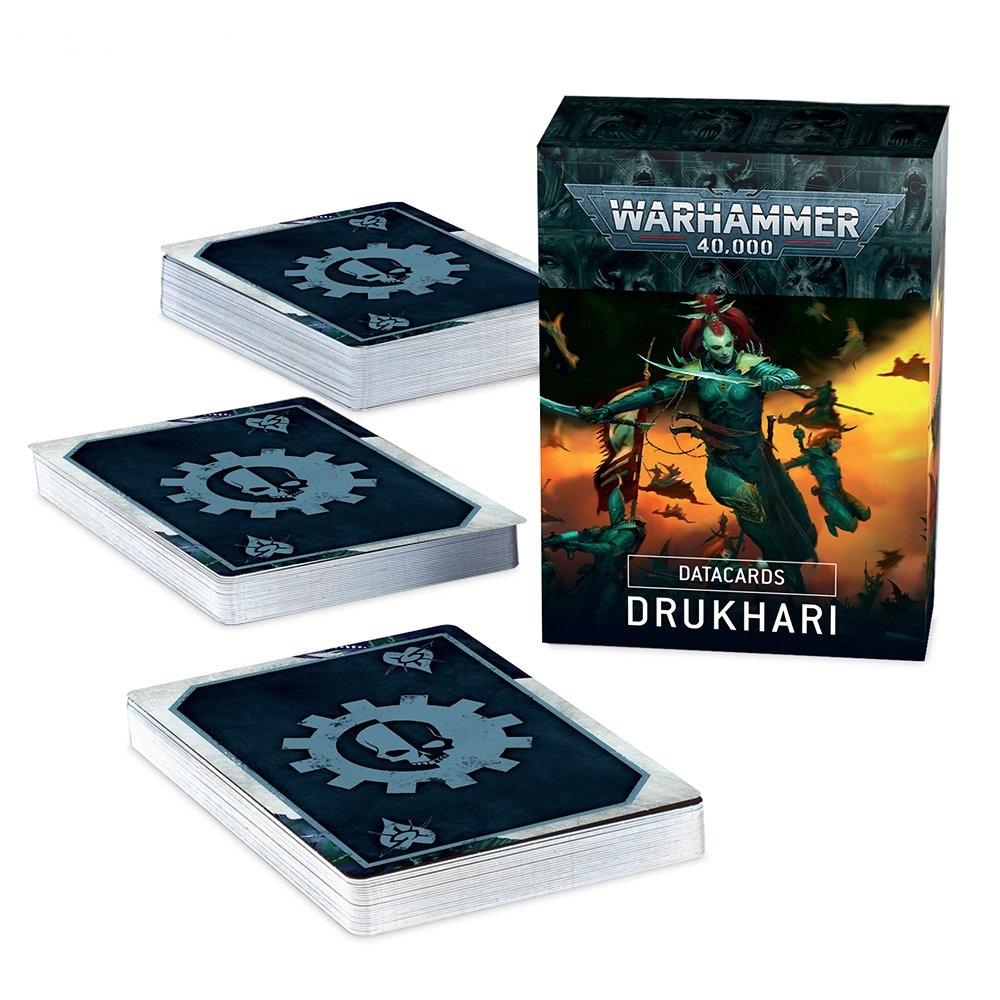 Datacards: Drukhari (Eng)