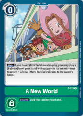 A New World - P-021 - P