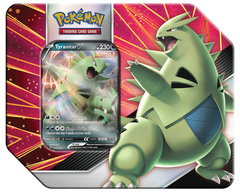 Tyranitar V Strikers Tin