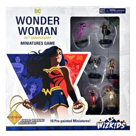 DC - Wonder Woman 80th Anniversary Miniatures Game