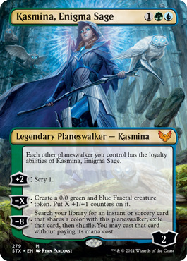 Kasmina, Enigma Sage - Borderless