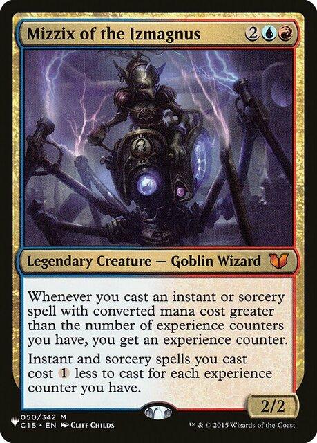 Mizzix of the Izmagnus - The List