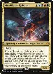 Niv-Mizzet Reborn - The List
