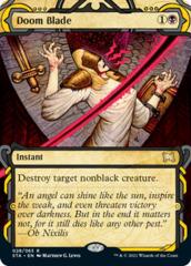 (028/063) Doom Blade - FOIL