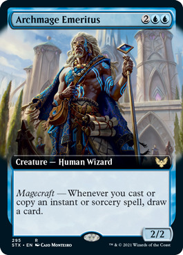 Archmage Emeritus - Extended Art