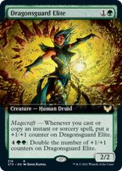 Dragonsguard Elite - Foil - Extended Art
