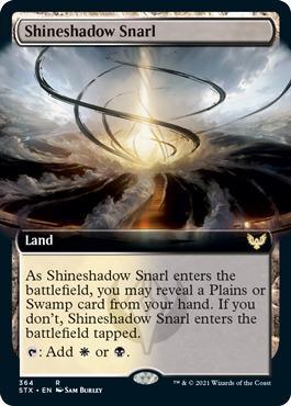 Shineshadow Snarl - Foil - Extended Art
