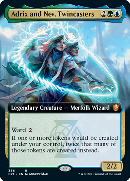 Adrix and Nev, Twincasters - Extended Art
