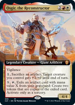 Osgir, the Reconstructor - Extended Art