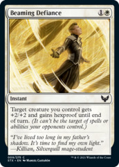 Beaming Defiance - Foil