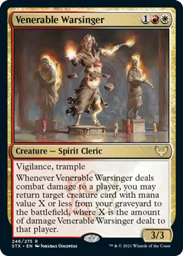Venerable Warsinger - Foil